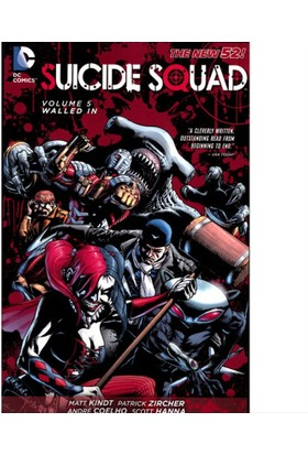 Dc Comics Suicide Squad Tp Vol 05 Walled In (N52)