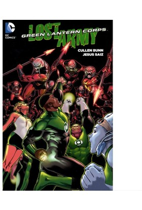 Dc Comics Green Lantern Corps The Lost Army Tp