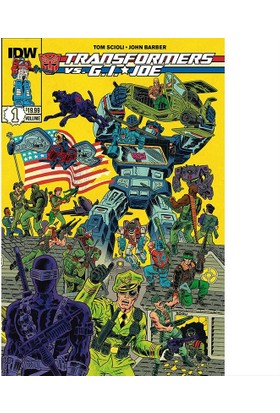 Idw Gi Joe / Transformers Tp Vol 01