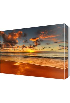 Dekor Sevgisi Güneşin Batışı Canvas Tablo 45x30 cm