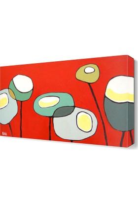 Dekor Sevgisi Poppies2 Tablosu 45x30 cm