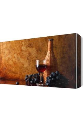 Dekor Sevgisi Şarap Üzüm5 Tablosu 45x30 cm
