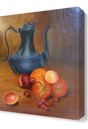 Dekor Sevgisi Meyve Suyu Tablosu 105x70 cm