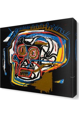 Dekor Sevgisi Jean Michel Basquiat Tablosu 50x50 cm