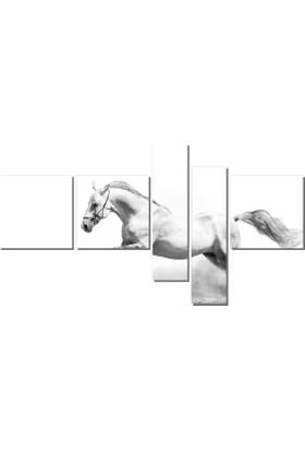 Dekor Sevgisi Koşan At Tablosu 90x170 cm