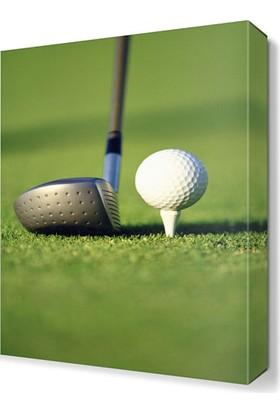 Dekor Sevgisi Golf Canvas Tablo 45x30 cm