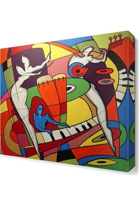 Dekor Sevgisi Alfred Gockel Canvas Tablo 50x50 cm