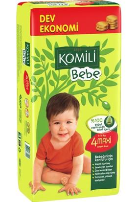 Komili Bebe Bebek Bezi 4 Beden Dev Ekonomi Paketi 60 Adet