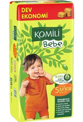Komili Bebe Bebek Bezi 5 Beden Dev Ekonomi Paketi 48 Adet