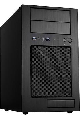 SilverStone Temjin Serisi TJ08B 600W 80+ Bronze Mini Tower Siyah Alüminyum Kasa (SST-TJ08BE-600)