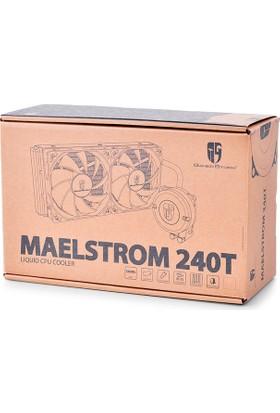 Deep Cool Maelstrom 240T Red Sıvı Bazlı İşlemci Soğutucusu Soket Intel Ve Amd