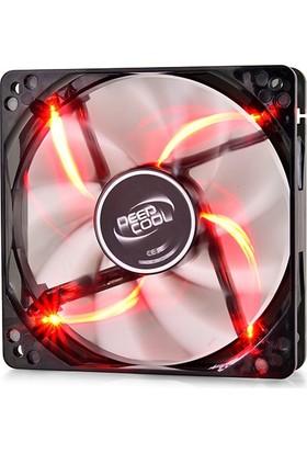 Deep Cool Wind Blade 120 Kırmızı Ledli Kasa Fanı 120Mm