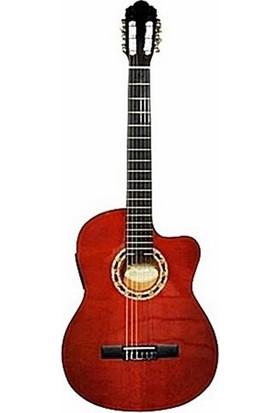 Carissa Cg-160Nt Elektro Klasik Gitar