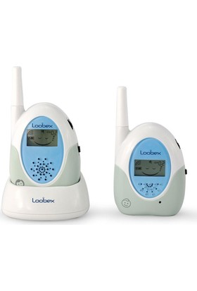 Loobex Lbx-2614 Lcd Ekranlı Bebek Dinleme Telsizi Mavi