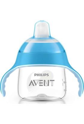 Philips Avent Scf751/05 Penguen Damlatmaz Alıştırma Bardağı 6M+ 7 Oz/200 Ml Mavi
