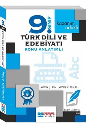 Evrensel İletişim Yayınları 9. Sınıf Türk Dili Ve Edebiyatı Konu Anlatımlı - Menekşe Başer