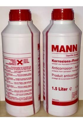 Mannkırmızı Organik 1.5 Lt Antifriz(2 Adet) -37 Derece