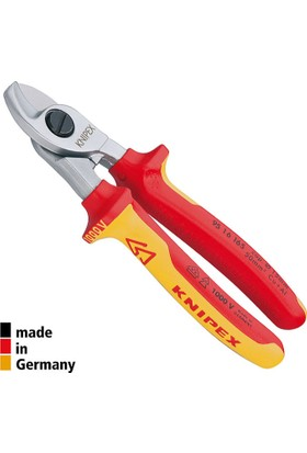 Knipex 9516165 Vde Kablo Makası