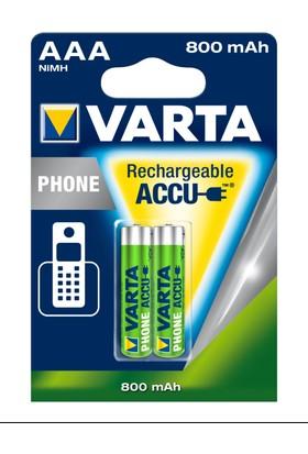 Varta Phone Power Accu Aaa / Hr03 800Mah Bls 2 58398101402