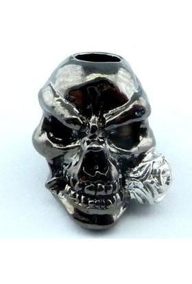 Emerson Skull Rose - Kuru Kafa Güllü - Landyard