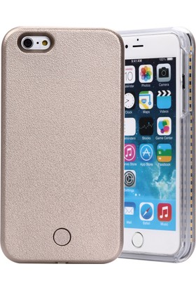 Komo Design iPhone 6 PLUS Gold Işıklı Selfie Kılıfı