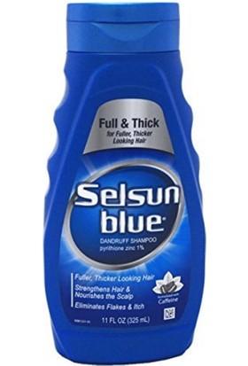 Chattem Selsun Blue Shampoo Dandruff For Fuller/Thicker Hair 11Oz/325Ml