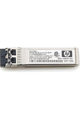 Hp 8Gb Shortwave B-Serıes Fc Sfp+ 1 Pack Aj716B