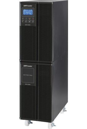 Artronıc 10Kva On Line Ups, 8000Watt, 40 Pc 5 Dk., 25 Pc 11Dk. Beta-10Kva