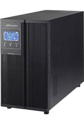 Artronıc 3Kva On Line Ups, 2400Watt, 15 Pc 5 Dk., 10Pc 10 Dk. Beta-3Kva