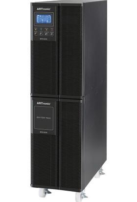 Artronıc 6Kva On Line Ups, 4800Watt, 25 Pc 11Dk., 15 Pc 23Dk. Beta-6Kva