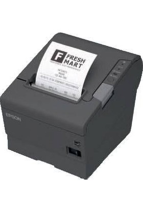 Epson Tm-T88V-042 Seri Siyah Türkçe Termal Rulo Yazıcı Adaptör Dahil C31Ca85042