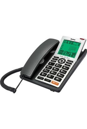 Multıtek Kablolu Mc140 Masa Telefonu Koyu Gri Mc140-Koyugrı