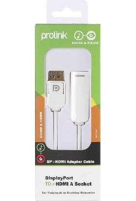 Prolink Dısplay Port Hdmı A Çevirici Kablo Mp297