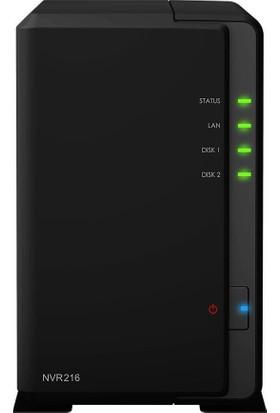 Synology Nvr Sunucu 1080P Hdmı 720P/30Fps Nvr216-9Ch