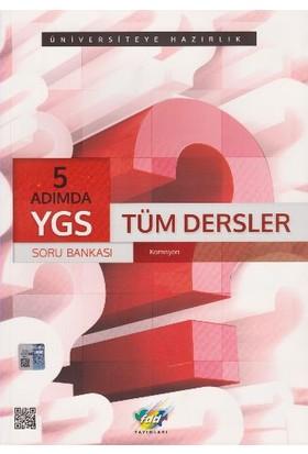 Fdd Yayınları Ygs 5 Adımda Tüm Dersler Soru Bankası