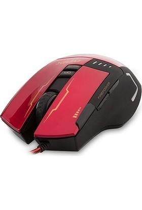 Everest Usb Kırmızı Oyuncu Mouse Pad Ve Oyuncu Mouse Sgm-X10K