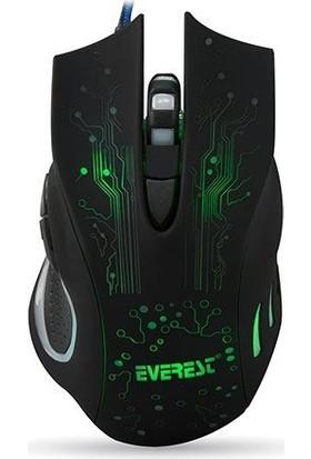 Everest Sm-790 Siyah 3200 Dpı Gaming Mouse Sm-790