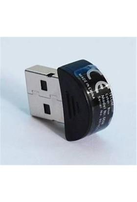 Tecom Usb 2.0 Bluetooth 3.0 Dongle 20 Metre Minik Siyah Usb-06K
