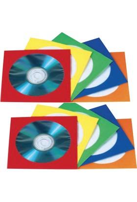 SmartEnvelope Sarı Penceleri Cd Zarfı - 100 Adet
