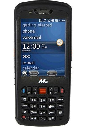 Mobılecomp Mobile M3 Black Wm 6.5 Wf+Bt+Sc+(Num,1Ghz,512Mb) Mcm3Blackwm