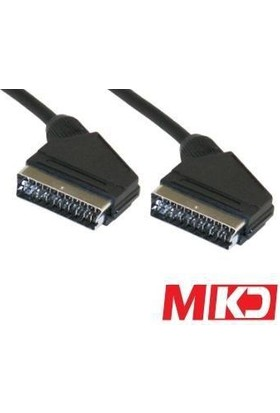 Mkd Mk-Sc03 High End Audio Video Scart Kablo 3 Metre Mk-Sc03