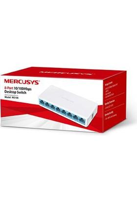 Mercusys MS108 8-Port 10/100Mbps Tak Ve Kullan Switch