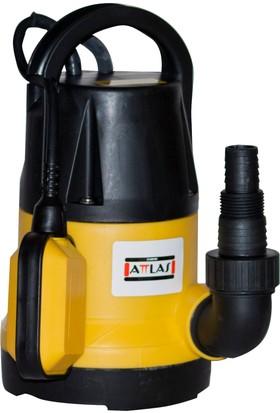 Attlas WP 350 K Plastik Gövdeli Kirli Su Pompası