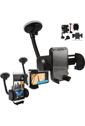 Araç İçi Telefon Tutucu Holder Güçlü Kilit Vantuzlu Akrobatik Gövde