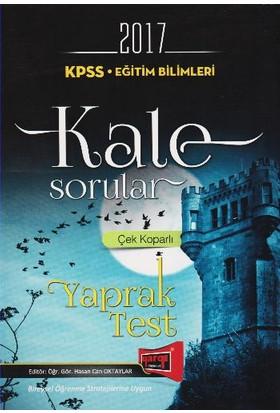 Yargı Yayınları Kpss 2017 Eğitim Bilimleri Çek Koparlı Kale Sorular