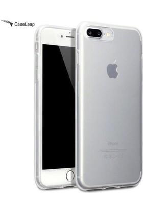 Case Leap iPhone 7 Plus İnce Silikon Kılıf Şeffaf
