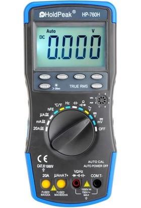 Holdpeak 760H Otomatik Ölçü Aleti Multimetre