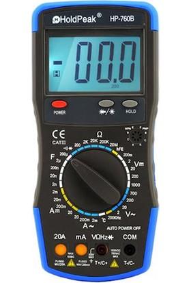 Holdpeak 760B Ölçü Aleti Multimetre
