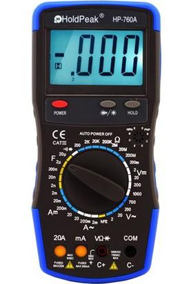 Holdpeak 760A Ölçü Aleti Multimetre