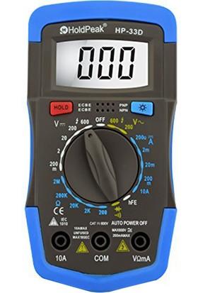 Holdpeak 33D Ölçü Aleti Multimetre